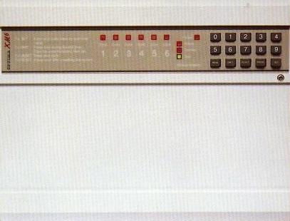 Honeywell 8ep396a ade optima compact gen4 burglar intruder alarm.